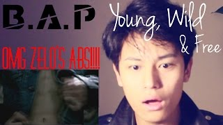 B.A.P - YOUNG WILD AND FREE REACTION!! (FINALLY THE WAIT IS OVER!!!!)