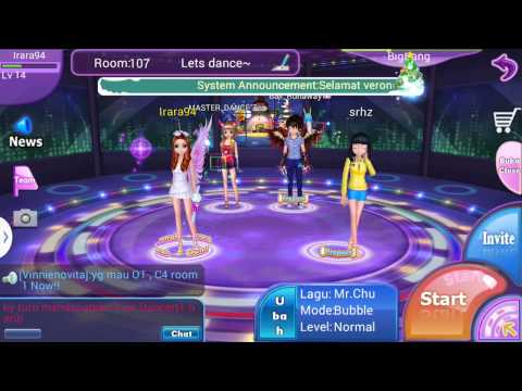 Game Audition mobile Indonesia (gameplay)