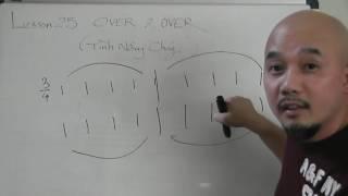 Tự học guitar căn bản bài 25 ( Over and Over)