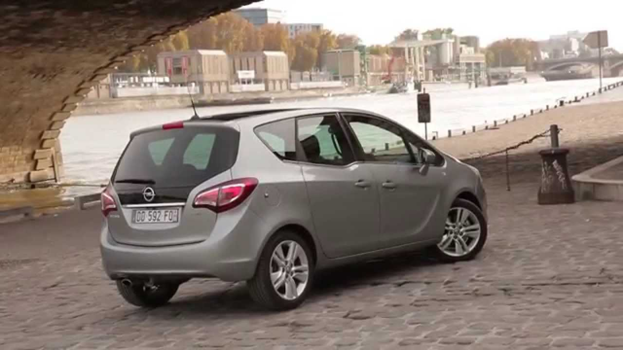 essai opel meriva 1 6 cdti cosmo pack youtube. Black Bedroom Furniture Sets. Home Design Ideas