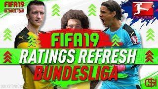 FIFA 19 WINTER REFRESH I FIFA 19 ULTIMATE TEAM BUNDESLIGA RATINGS REFRESH I WINTER UPGRADES