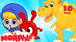 The Super Dinosaur Chase - Mila and Morphle | T-Rex Superheroes | Cartoons for Kids | @Morphle TV
