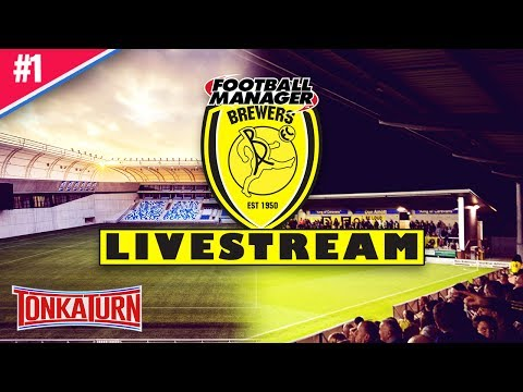 Football Manager Underdog Story w/ Burton Albion - Football Manager 2017 Live Stream