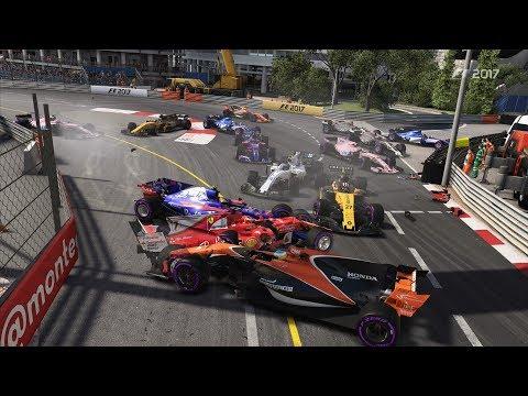 WORST MONACO RACE EVER | *Huge Crash*