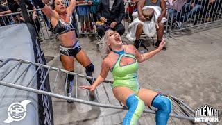 Lady Frost vs Heather Monroe (Last Woman Standing) Hurricane Pro Wrestling