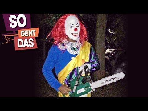Wie kann man sich vor Killer-Clowns schützen?
