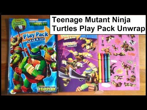 Teenage Mutant Ninja Turtles Play Pack Unwrap