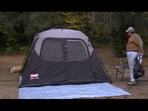 Coleman Instant Tent 10 x 9 Full Eval (reload+) & Coleman Instant Tent 10 x 9 Full Eval (reload+) - YouTube