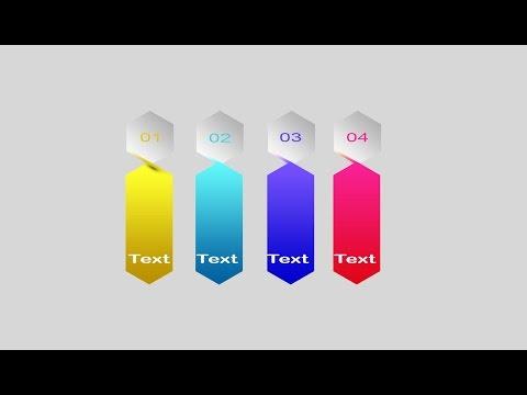Photoshop Tutorial 3D Graphic Design Infographic Banner Design12