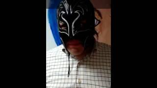 Maldito Jr previo a su duelo de máscaras