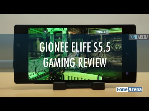 Gionee Elife S5.5 Gaming Review