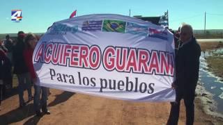 Cerro Padilla: Manifestación en rechazo a las perforaciones de prospecciones de hidrocarburos