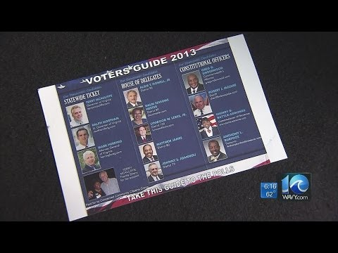 Liz Palka reports on campaign flyer controversy