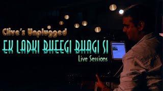 Ek Ladki Bheegi Bhagi Si | Unplugged Live Cover | Kishore Kumar | Clive Ansley