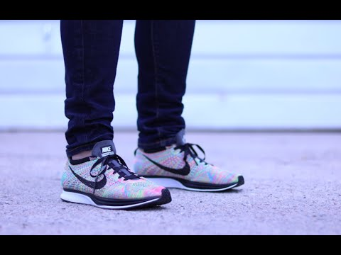 88d4cfd8fcdb1 ... store nike flyknit racer multicolor 3.0 review on feet hd 165bd 284f0