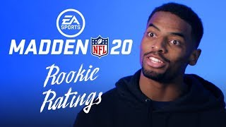NFL Rookies React to Madden NFL 20 Ratings - Official Trailer