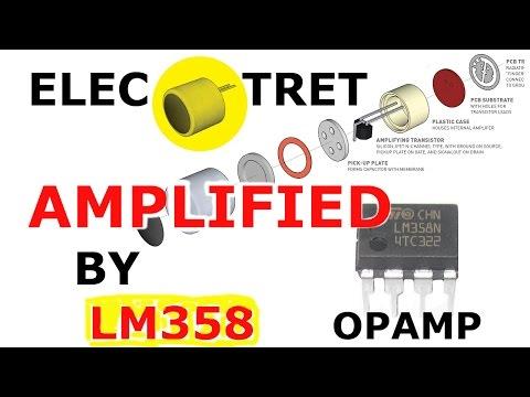 LM358 Opamp Electret Amplifier Circuit - Jungletronics - Medium