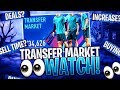 I CAN'T SELL ANY CARDS! MARKET WATCH! FIFA 19 Ultimate Team