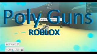 Playing PolyGuns | Roblox