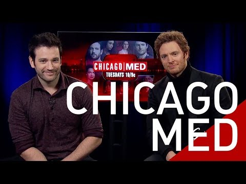 Colin Donnell & Nick Gehlfuss Stars of the NBC hit  Chicago Med