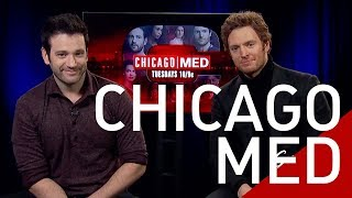 Colin Donnell & Nick Gehlfuss Stars of the NBC hit show Chicago Med