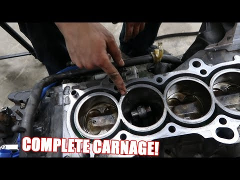 Assessing The Damage On Wago's Engine! (It's Bad)
