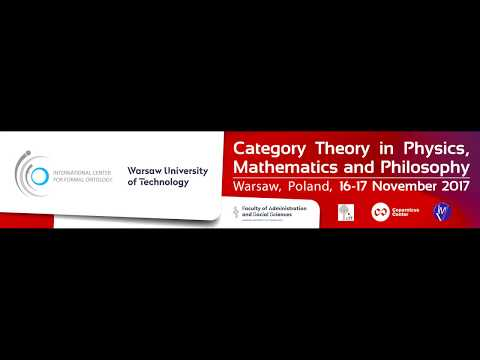 Marek Kuś: Why Categories? Opening Address: Category Theory in Physics, Mathematics and Philosophy