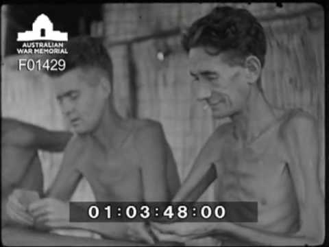 POW's in Changi prison camp