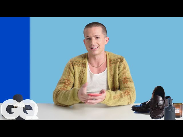 10 Things Charlie Puth Can't Live Without | GQ