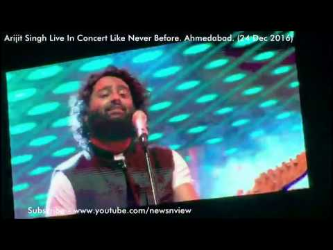 Arijit Singh Live Concert Ahmedabad 24 Dec 2016 Like Never Before Symphone Orchestra