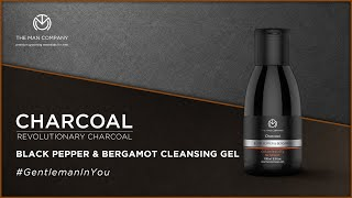 Charcoal Cleanser Gel for Men | Skin Lightening Gel | The Man Company