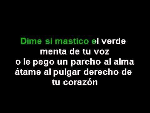 Karaoke Marlon - frio frio (instrumental)