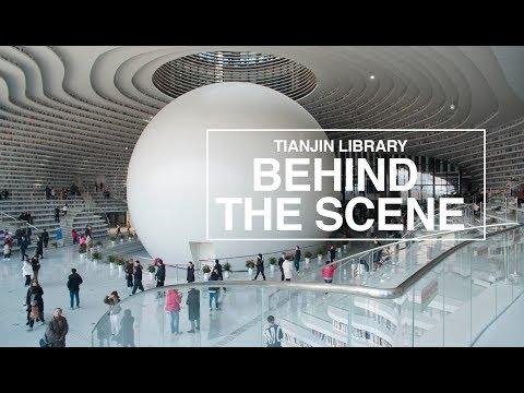 MVRDV's TIANJIN BINHAI LIBRARY : BEHIND THE SCENE
