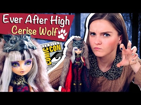 Cerise Wolf (Сериз Вульф) Ever After High Обзор и Распаковка /Review, SDСC,Comic Con,CCK33