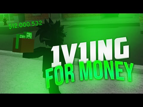 1v1ING FANS FOR DA HOOD CASH | IF I LOSE THEY GET MONEY (ROBLOX)