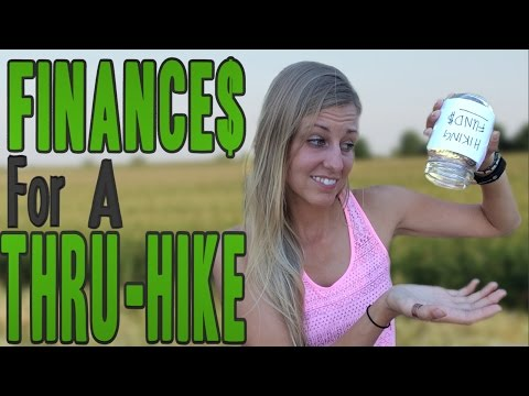 Financially Planning for a Thru Hike