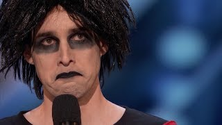 Oliver Graves Stand-up Comedian Brought to Tears On America's Got Talent