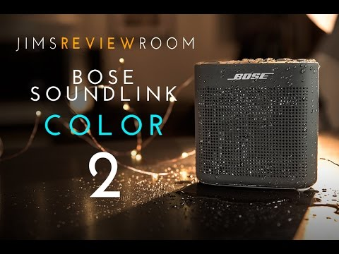 Bose Soundlink Color 2 Bluetooth Speaker Review Youtube