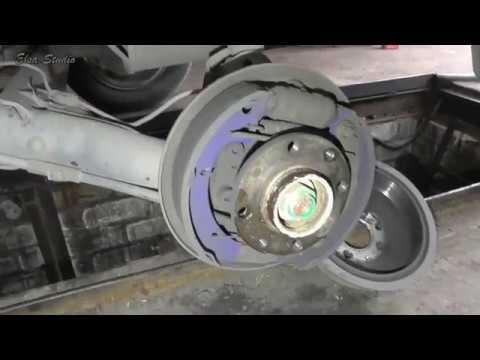 Замена подшипника задней ступицы ВАЗ 1118 Калина