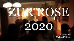 """MAINROCKER BEIM WEIBERFASCHING  """"WIRTSHAUS Zur Rose"""" in Karlstadt 2020"""