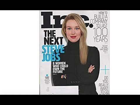 Scammer Elizabeth Holmes Was Created by a Media Desperate for a Female Tech CEO