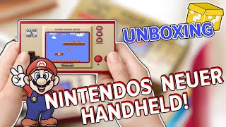 Der neue Handheld von Nintendo im Unboxing - Game and Watch - Super Mario Bros 35th Anniversary