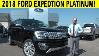 2018 Ford Expedition Platinum Exterior & Interior Walkaround