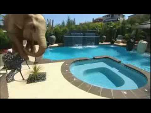Beau Blue Haven Pools And Spas TV Ad (August 2008)
