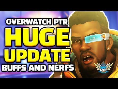 Overwatch - MASSIVE Balance Update! HUGE Buffs and Nerfs! thumbnail