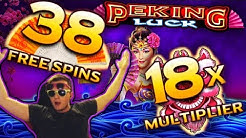 PEKING LUCK at MAX Spins and MAX Multiplier Big Win!!