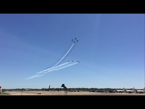 Patrouille de France Demo Maxwell AFB Airshow 2017