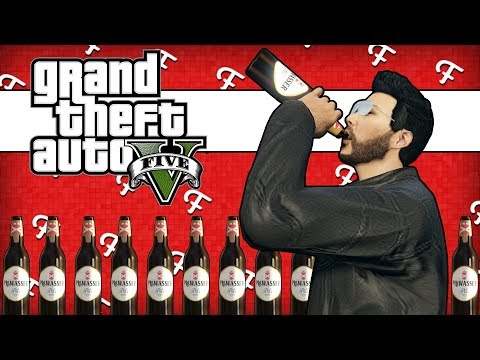 GTA 5: Anti Sobriety Man, Tedzaster Freestyle Rap, Trolling Ryze, Drunk Run Race! (Comedy Gaming)