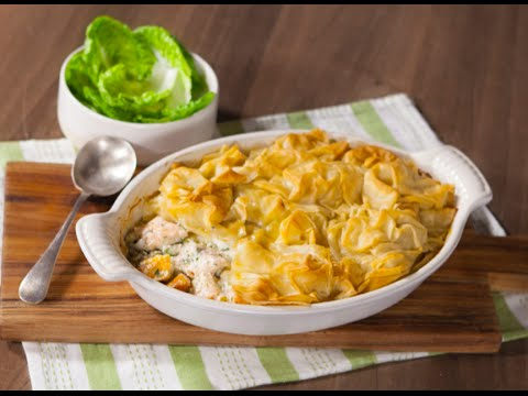 Jus Create - Filo Topped Fish Pie - Pastry Recipes From Jus-Rol™