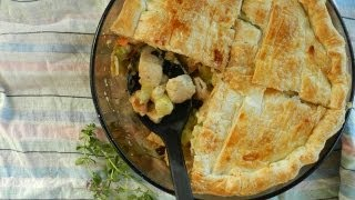 How to Make Chicken and Leek Pie